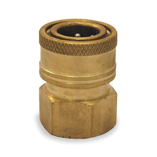 """QC Ball Quick Coupling, 3/8""""F inlet"""