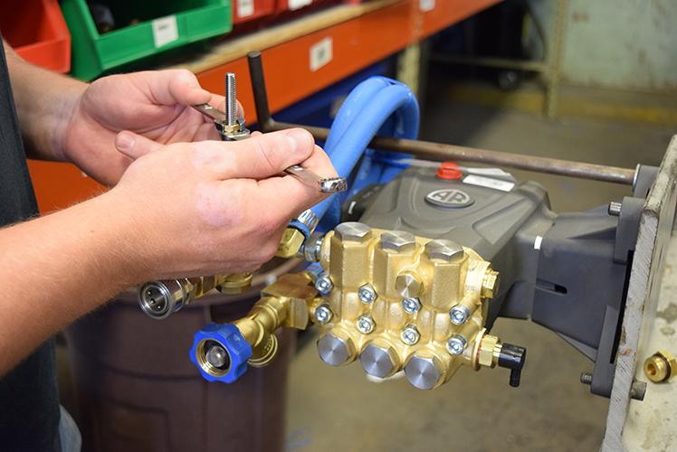 Vortexx Homeowner 2500 PSI Pressure Washer AR Pump.