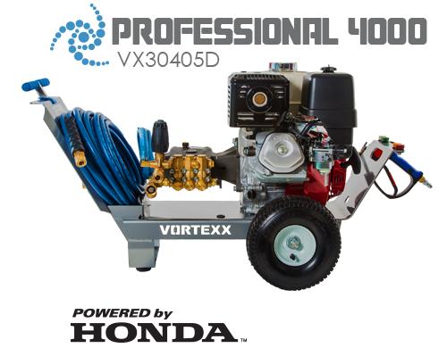 Professional 4000 PSI Pressure Washer | Vortexx Pressure Washers