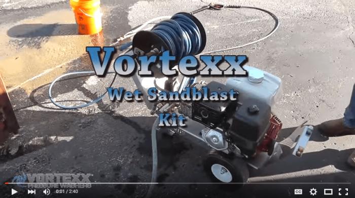 Vortexx Sand Blaster Video