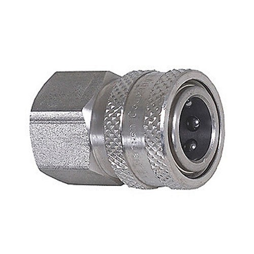 """QC Ball Quick Coupling, 1/4""""F Inlet"""