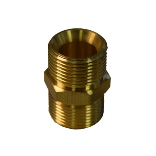 M22xM22 Brass Fitting