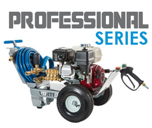Professional Series Pressure Washers